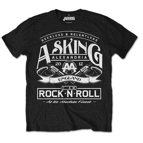 Asking Alexandria - Rock 'n Roll (tricou unisex)
