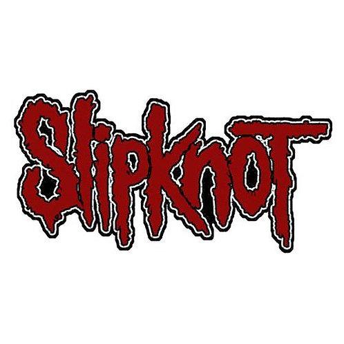 Patch Slipknot - Logo cut out (patch)