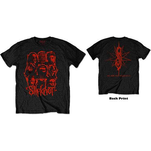 Slipknot - WANYK Red Patch (tricou unisex)