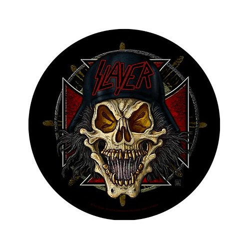Slayer-Wehrmacht Circular (patch - back)