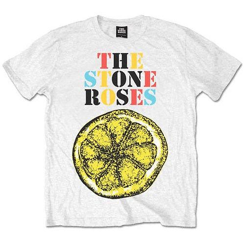 Stone Roses - Logo Lemon Multicolour (tricou unisex)