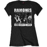 Ramones - CBGB 1978 (bluză damă)