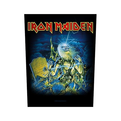 Iron Maiden - Live After Death (patch - back)