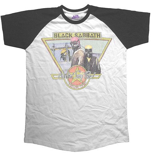 Black Sabbath - Never Say Die Tour 1978 (tricou unisex)