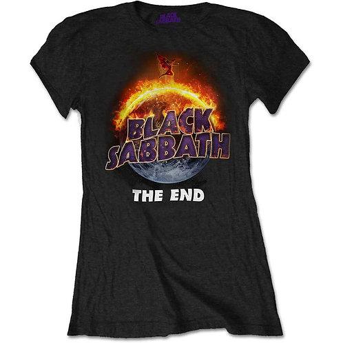 Black Sabbath - The End (tricou damă)