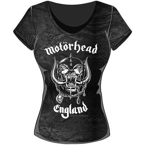 Motorhead - England (tricou damă)