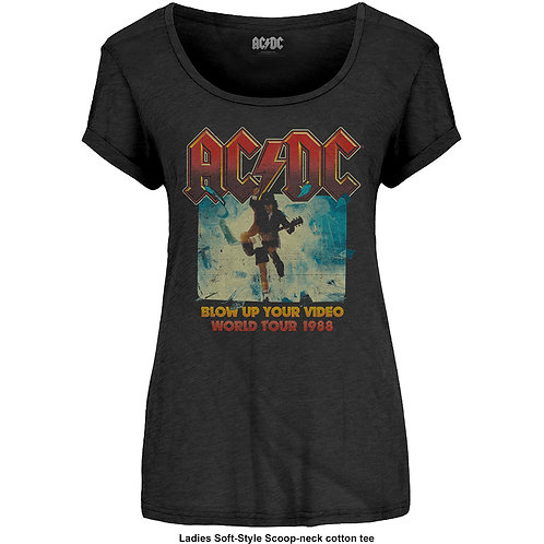 AC/DC - Blow up your video (bluză damă)