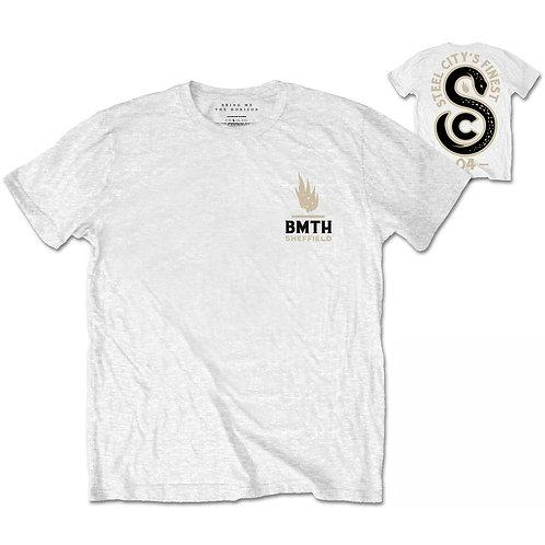 BMTH - Sheffield Snake - față / spate (tricou unisex)