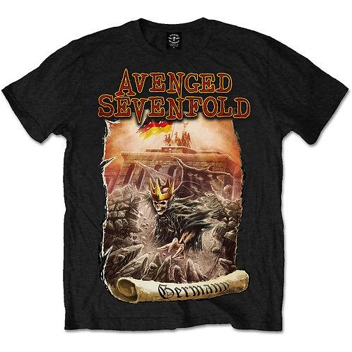 Avenged Sevenfold - Germany (tricou unisex)