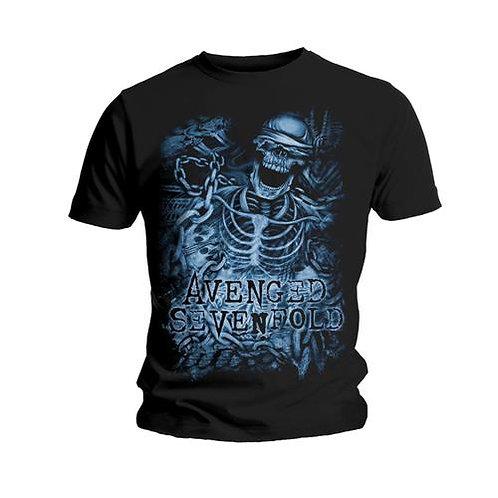 Avenged Sevenfold - Chained Skeleton (tricou unisex)