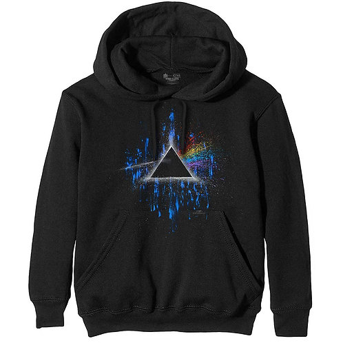Pink Floyd - Dark Side of the Moon Blue Splatter (hanorac unisex)