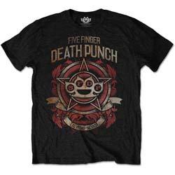 Five Finger Death Punch - Badge of Honour (tricou unisex)