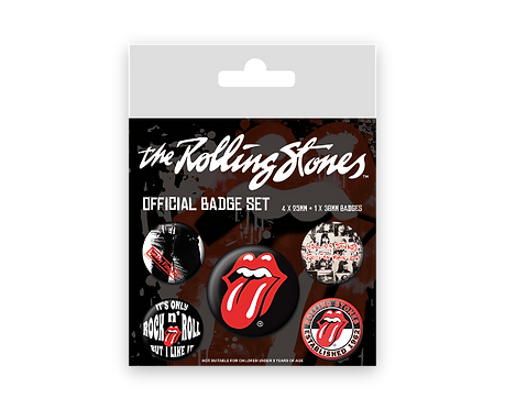 Rolling Stones (set insigne)