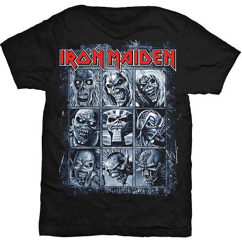 Iron Maiden - Nine Eddies (tricou unisex)