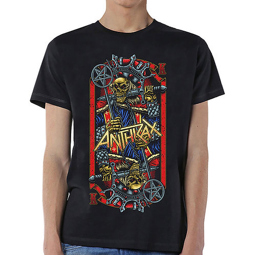 Anthrax - Evil King (tricou unisex)