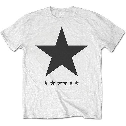 David Bowie - Blackstar /on White (tricou unisex)