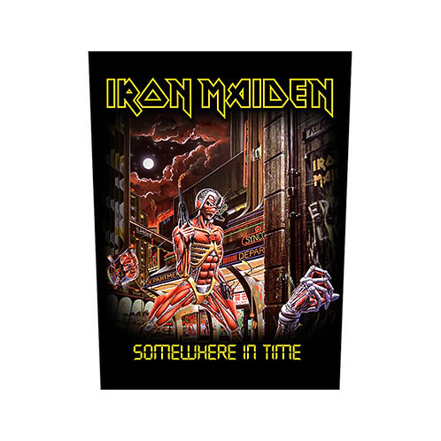 Iron Maiden - Somewhere in Time (patch-back)