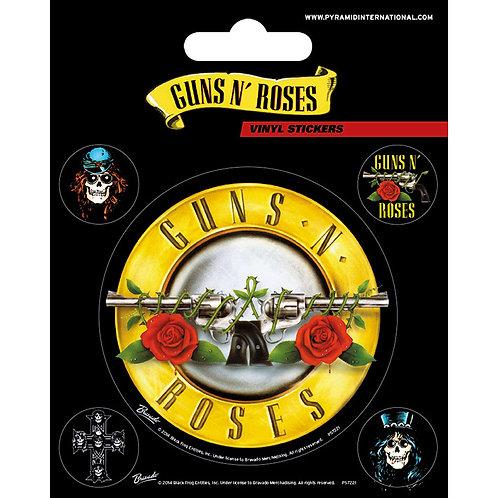 Guns N' Roses (set stickere vinyl)