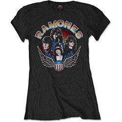 Ramones - Vintage Wings Photo (bluză damă)