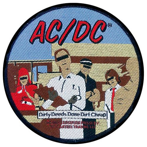 AC/DC - Dirty Deeds (patch)