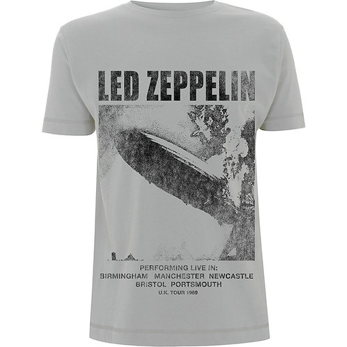 Led Zeppelin - UK Tour '69 LZ1 (tricou unisex)