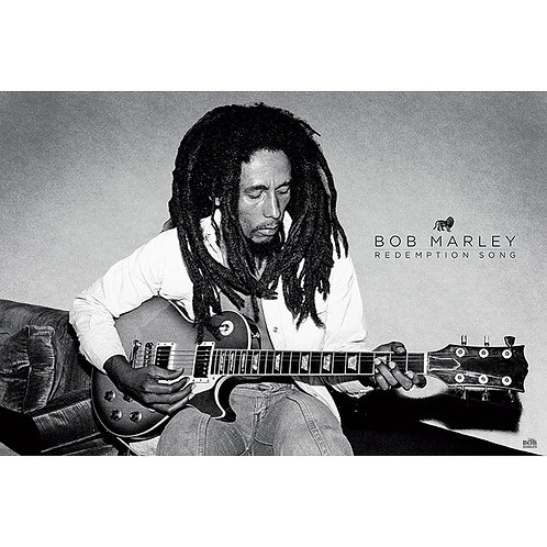 Bob Marley - Redemption Song (poster)