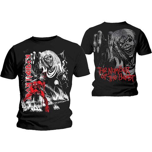 Iron Maiden - Number of the Beast Jumbo (tricou unisex)