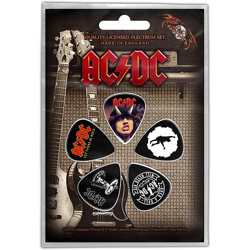 AC/DC - Set pene chitară