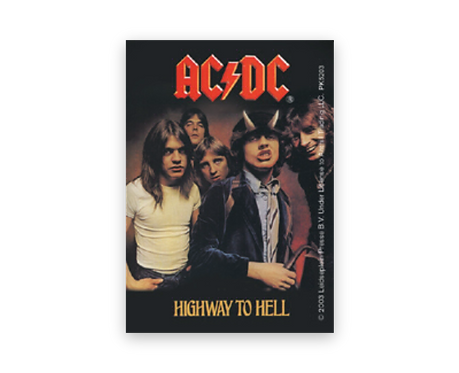 AC/DC - Highway to Hell (breloc)