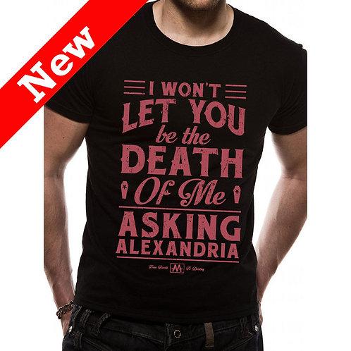 Asking Alexandria - Death Of Me (tricou uniesx)