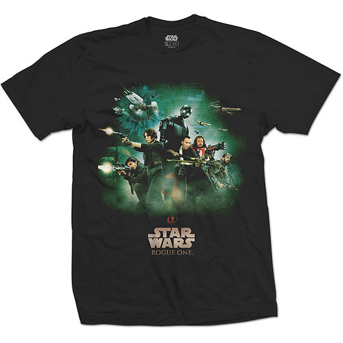 Star Wars - Rogue One Rebels Poster (tricou unisex)
