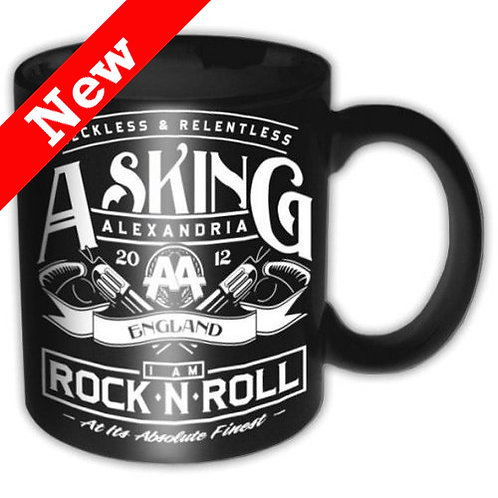 Asking Alexandria - Rock n' Roll (cană ceramică)