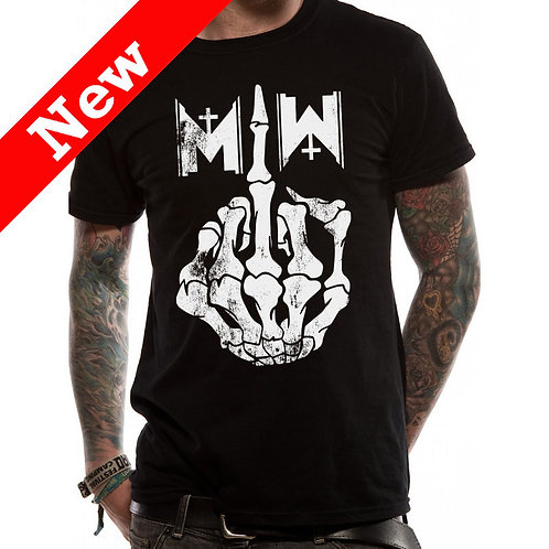 Motionless in White - Middle Finger (tricou unisex)