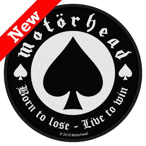 Motorhead -Born to Lose (patch)