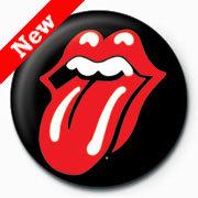 Rolling Stones - Lips (insignă)