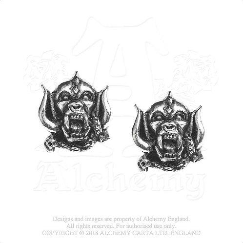 Motorhead - War Pig (cercei cu pin)