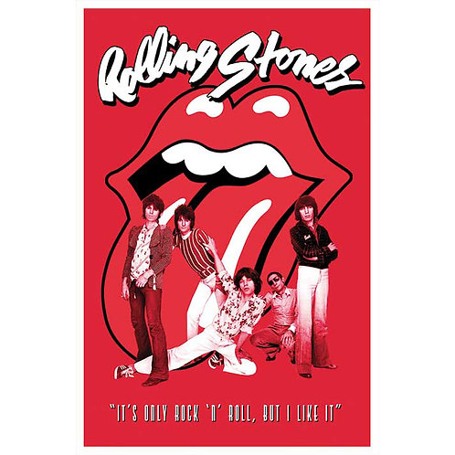 Rolling Stones - It's only Rock 'n Roll (poster)