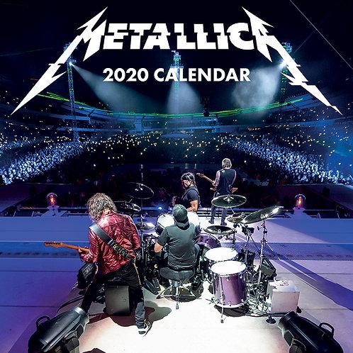 Calendar de perete 2020 - Metallica