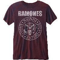 Ramones - Presidential Seal Tricou unisex)