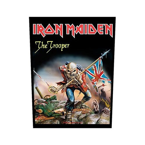 Iron Maiden - The Trooper (patch - back)