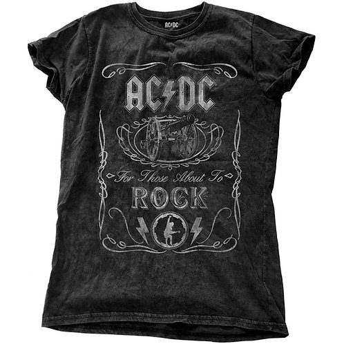 AC/DC - Cannon Swig Vintage (tricou damă)