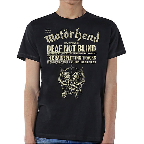 Motorhead - Deaf Not Blind (tricou unisex)
