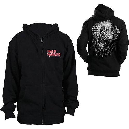 Iron Maiden -No Prayer- imprimeu față/spate (hanorac unisex cu fermoar)