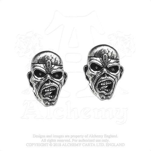Iron Maiden - Piece Of Mind Eddie (cercei cu pin)