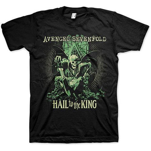 Avenged Sevenfold - Hail to the King En Vie (tricou unisex)