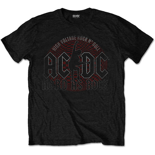 AC/DC - Hard As Rock (tricou unisex)