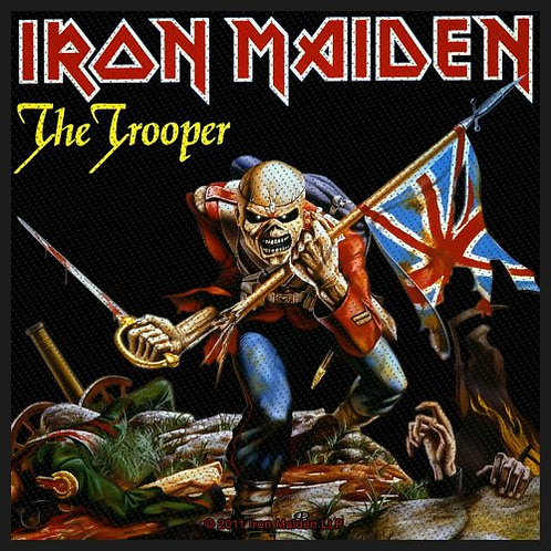 Iron Maiden - The Trooper (patch)