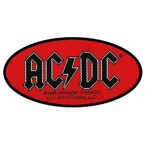 AC/DC - Oval Logo (patch)