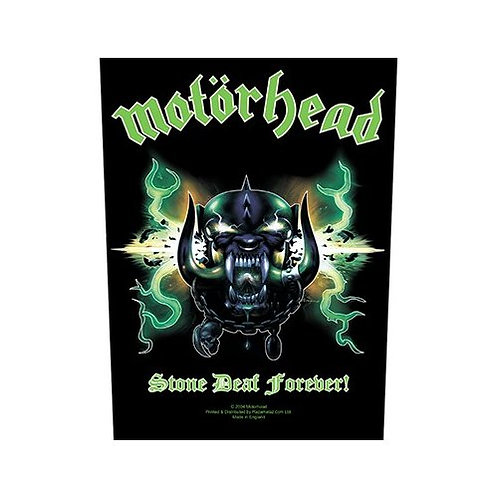Motorhead - Stone Deaf Forever (patch - back)