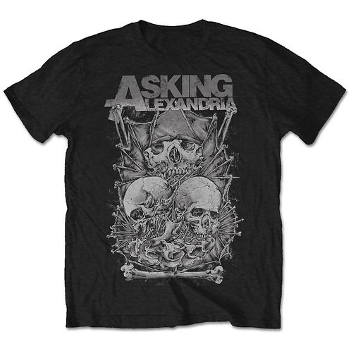 Asking Alexandria - Skull Stack (tricou unisex)